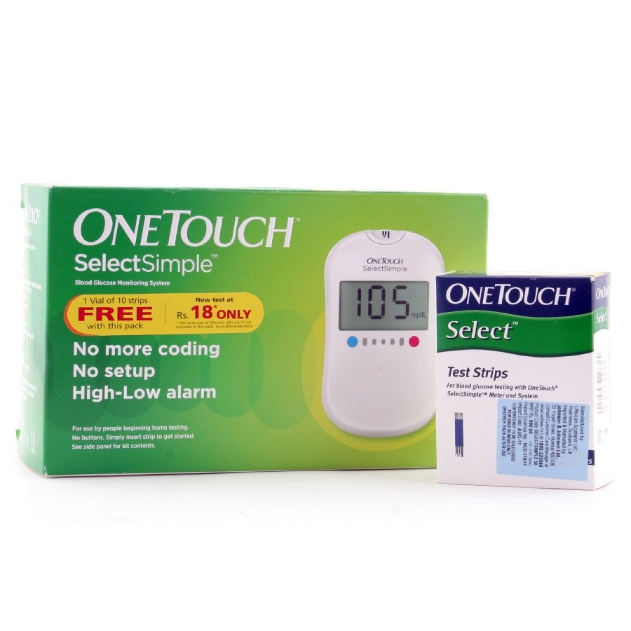 Buy J&J One Touch Select Test Strips Strips Pack online at low price in India. Shop online for J&J One Touch Select Test Strips Strips Pack only on Snapdeal. Get Free Shipping & /5.
