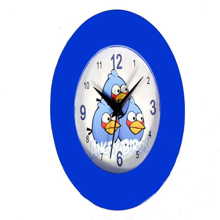 Buy Sonic Round 7cm Dia Analog Wall Clock Online In India