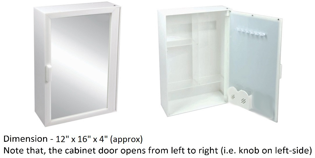 Online Bathroom Mirror Storage Cabinet Prices Shopclues