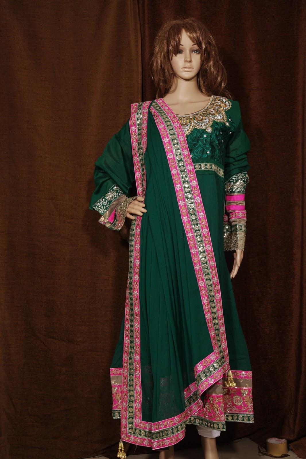 Fashion :: Women's Apparel :: Ethnic Wear :: Blouses ...  |Kareena In Green Anarkali Dress