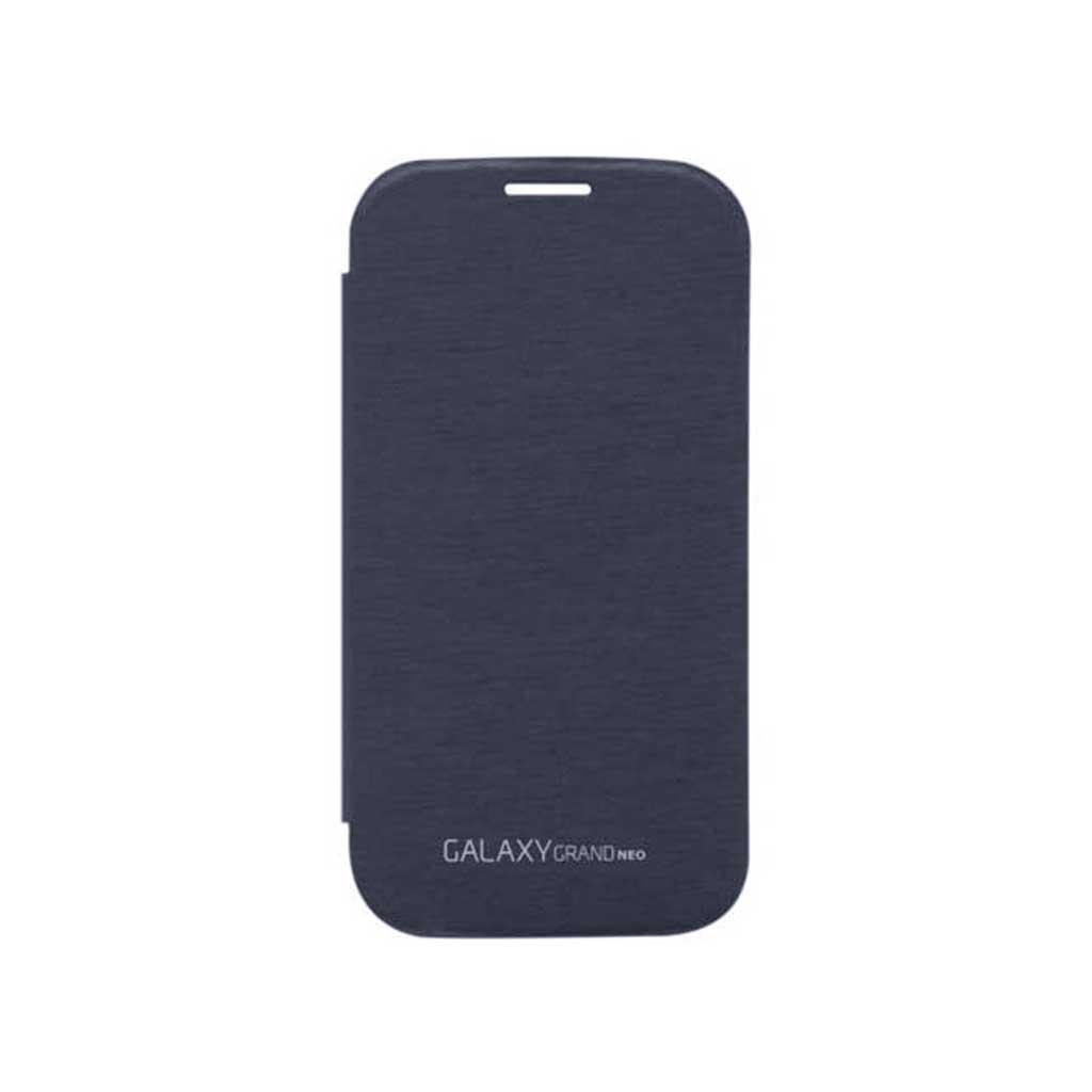Pebble Blue Premium Flip Book Cover Case for Samsung Galaxy Grand Neo    Galaxy Grand Pebble Blue