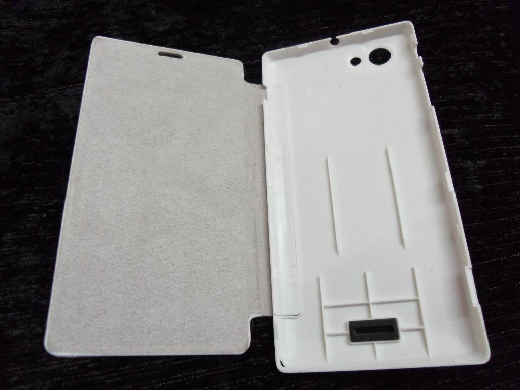 SONY XPERIA J ST26i FLIP COVER CASE DIARY CASE BATTERY DETACHABLE    Xperia J Cover
