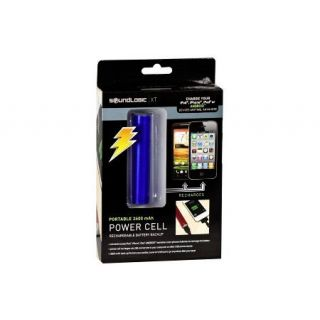 Sound Logic XT Portable 2600 mAh Power Cell Battry Backup Charger