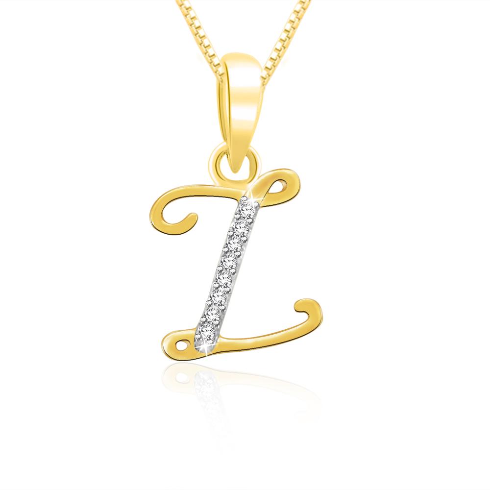 Alphabet Z necklace With diamond  Canturi