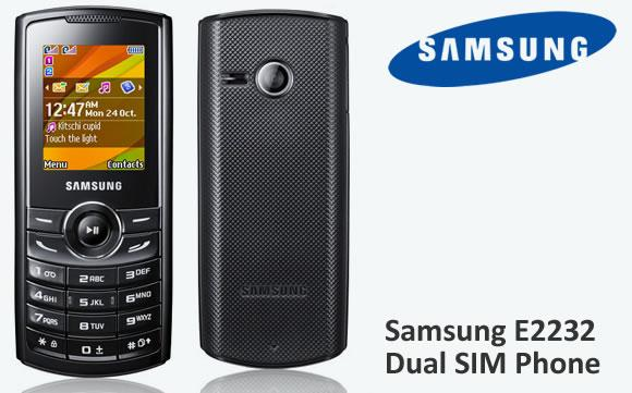 samsung е2232 duos инструкция