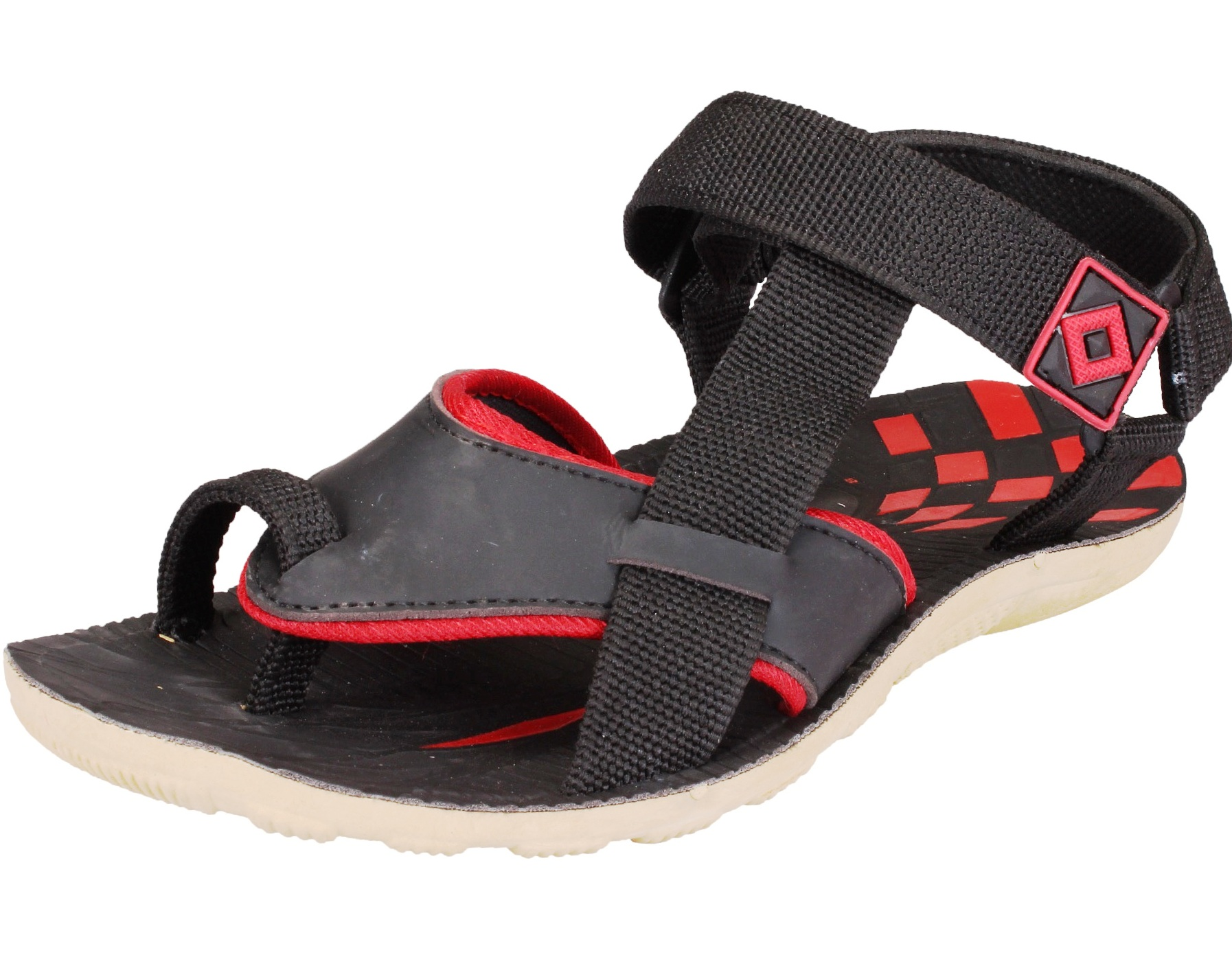 TEMPO ARMY4-BLK MENS SANDALS FLOATERS