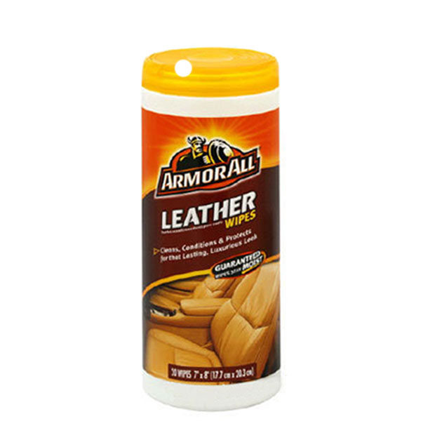 armorall car cleaning leather wipes armor all 20 disposable leather wipes. Black Bedroom Furniture Sets. Home Design Ideas