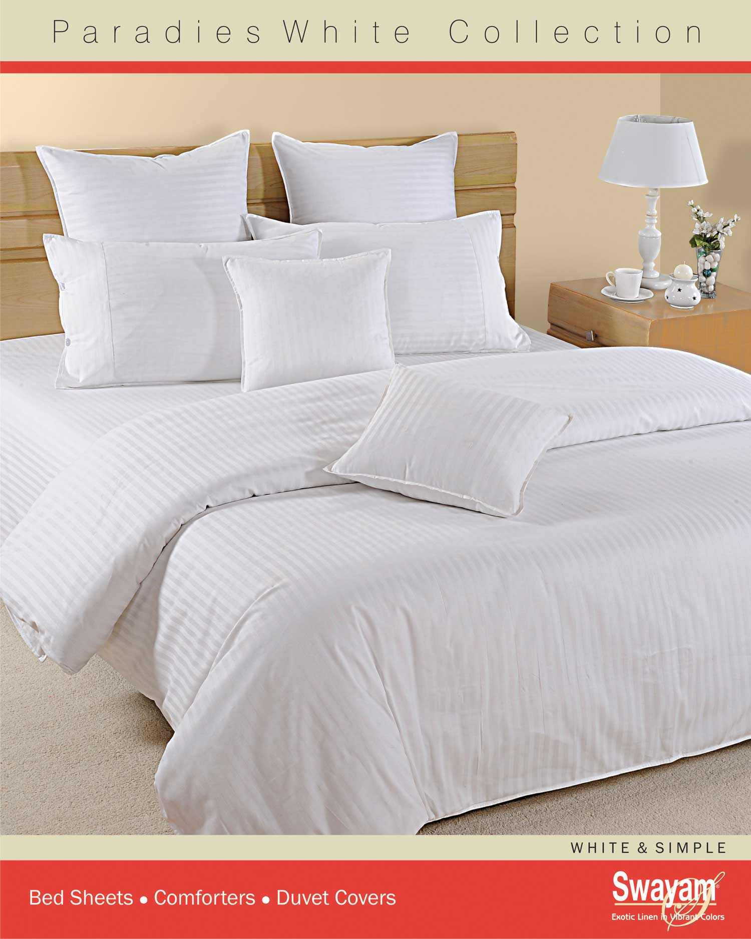 bed sheet set with comforter