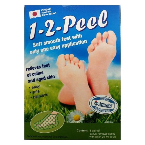 1 -2 Peel Callus Removal Socks