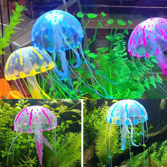 Everything else pet supplies crates houses kennels for Aquarium jellyfish decoration
