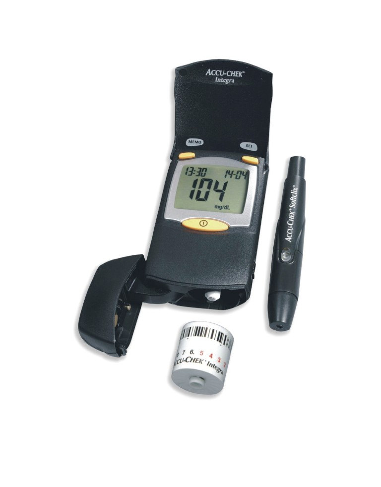 Accu-Chek Integra Blood Glucose Monitor System ( Free 17 Test Strips )