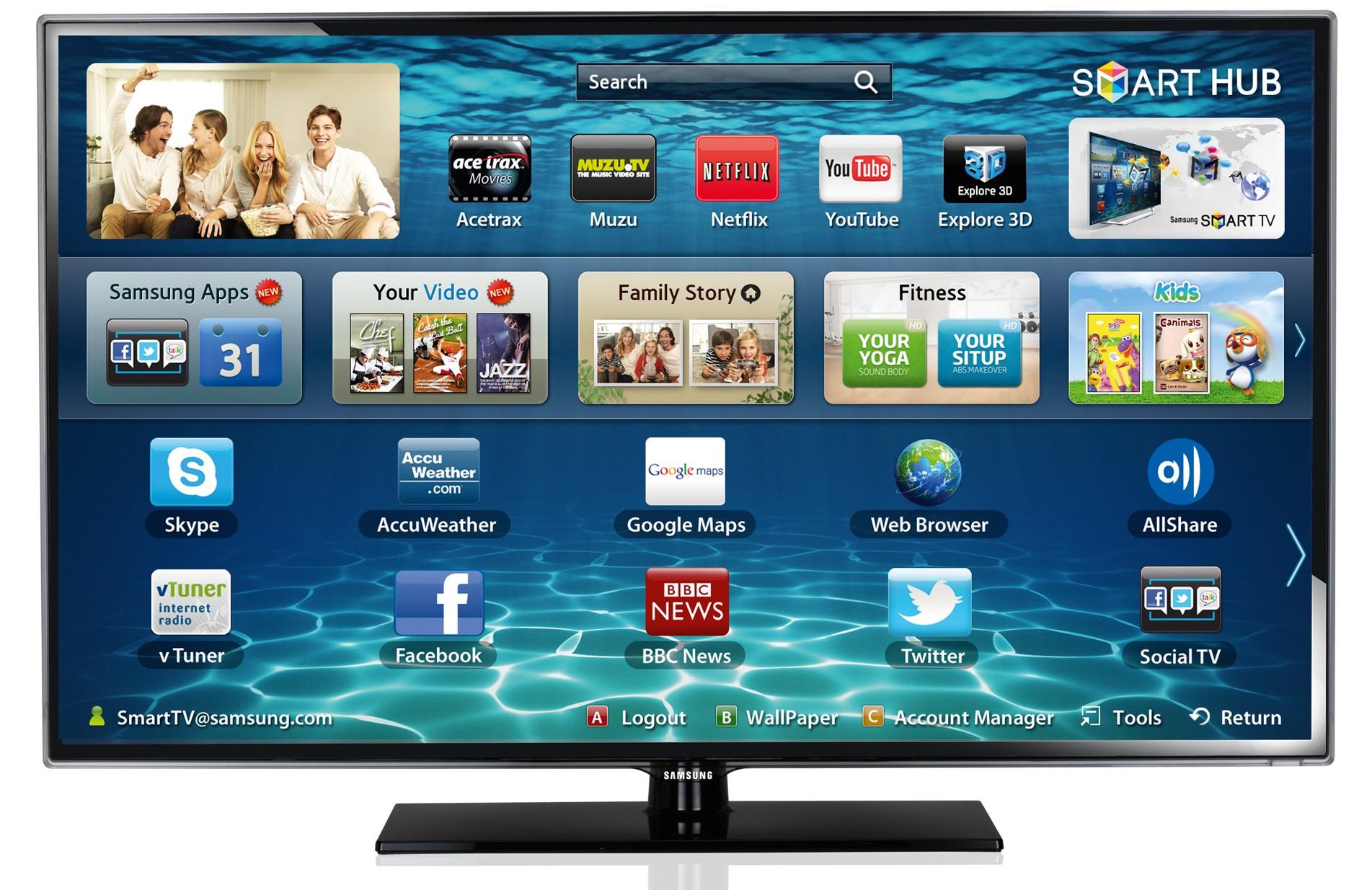 electronics tvs dth led samsung 32f5500 32. Black Bedroom Furniture Sets. Home Design Ideas