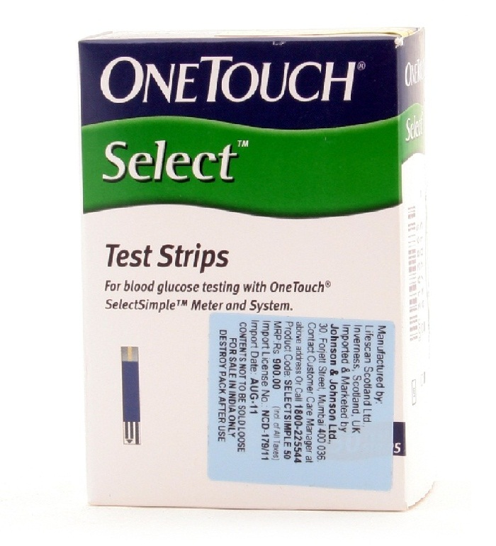 OneTouch Ultra Blue Test Strip Insert US