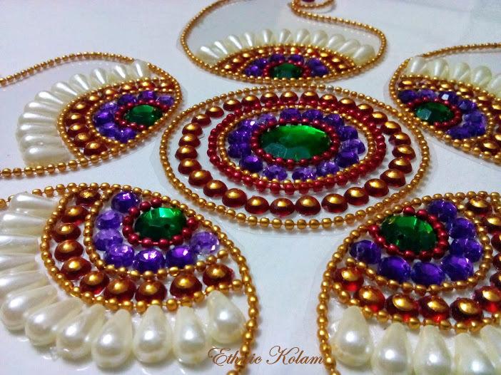 Kundan rangoli at best prices shopclues online shopping store
