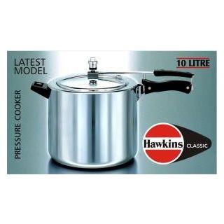 Hawkins Classic Pressure Cooker 10 Ltr