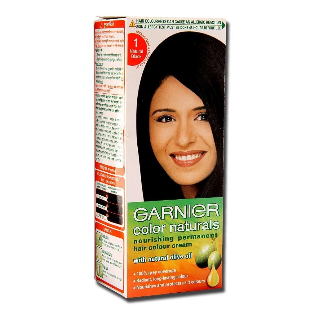Garnier color naturals natural black hair color 100 ml buy online 1 nvjuhfo Image collections