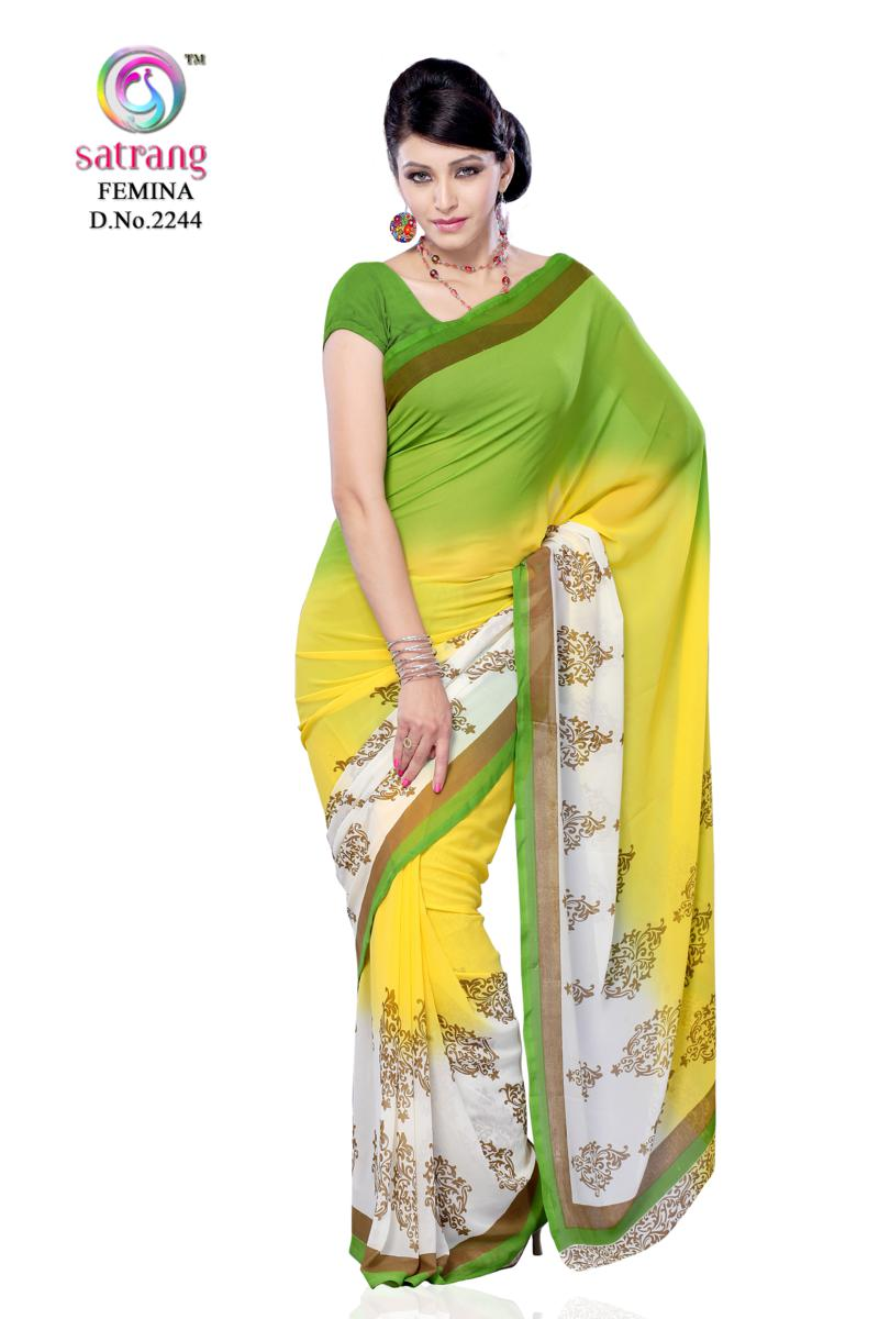 Yellow Fashion Sarees on wholesale modern bedroom set