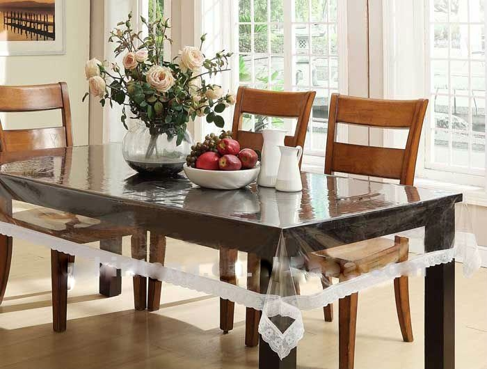 Buy Expressions Transparent Dining Table Cover Online  : Dinningtablecover1401215838 from shopclues.com size 700 x 530 jpeg 112kB