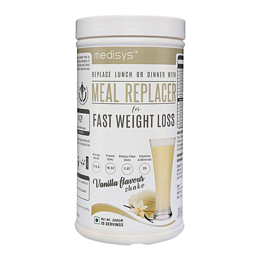 Medisys Nutritious Meal Replacer - Vanilla - 500gm