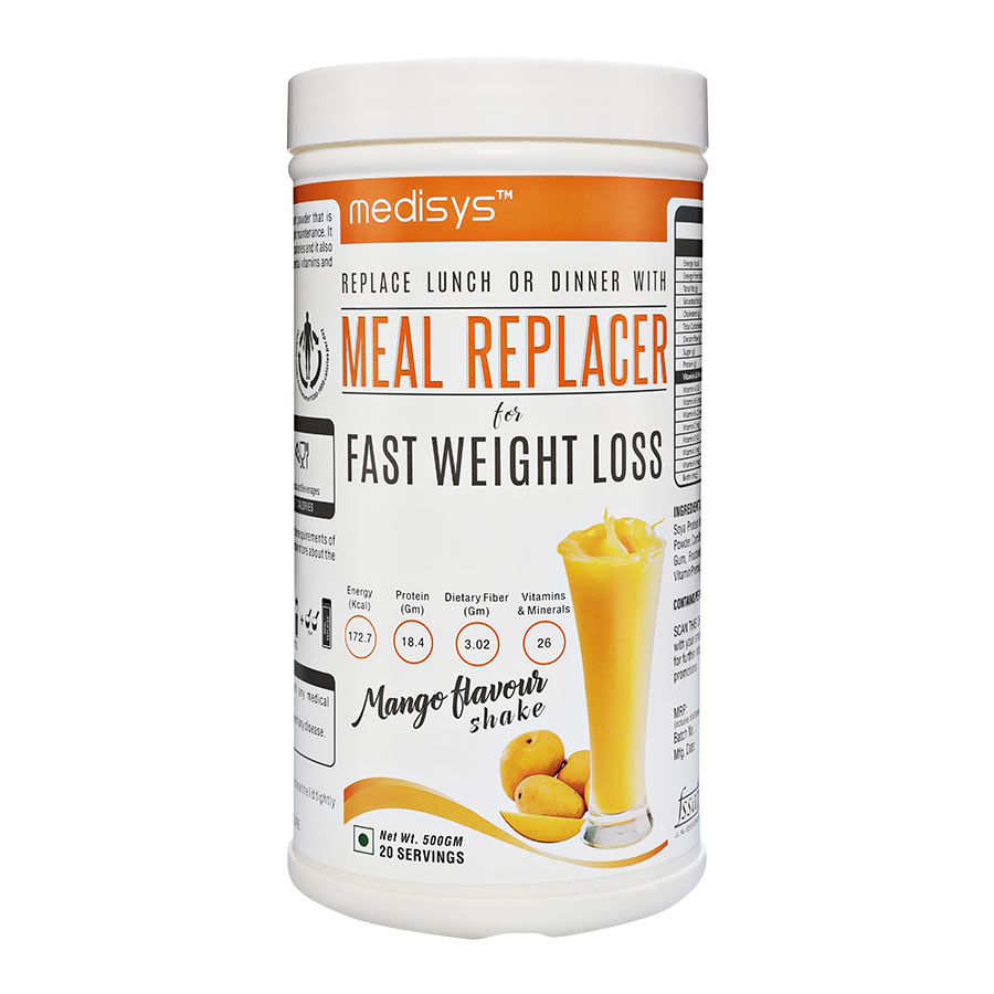 Medisys Nutritious Meal Replacer - Mango - 500gm
