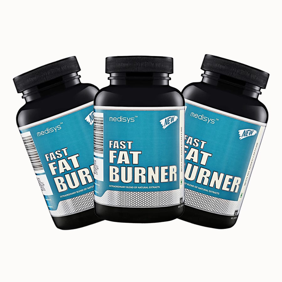 Medisys Fast Fat Burner Combo of 3 Pack