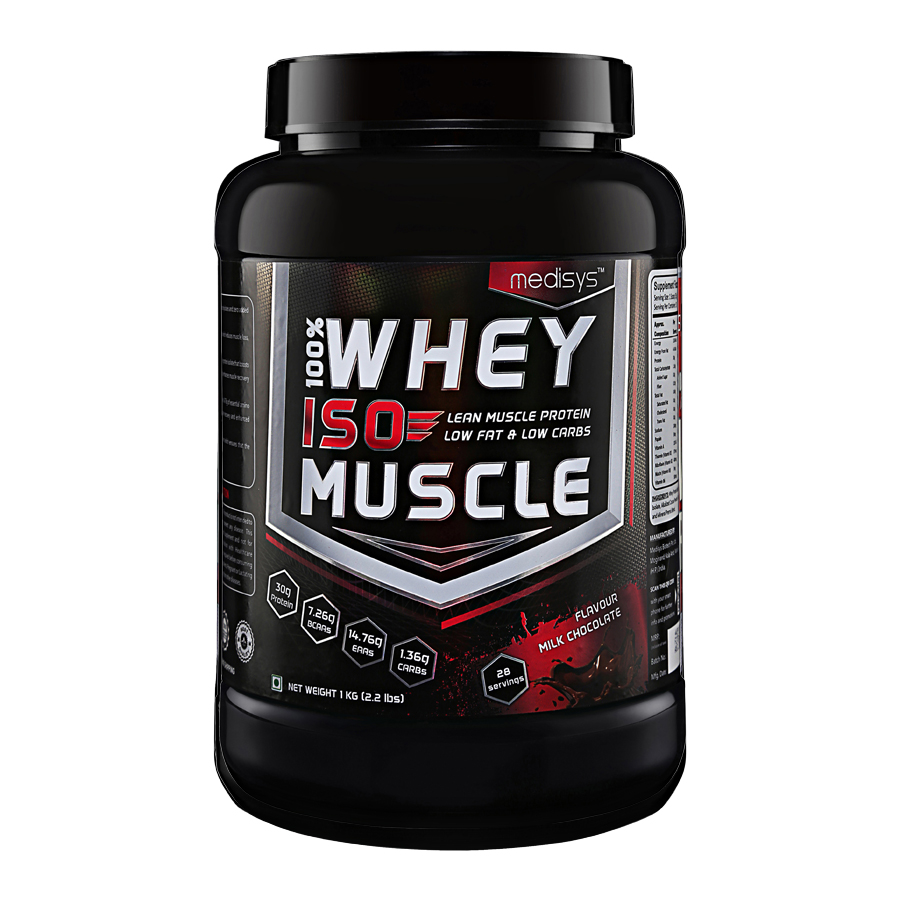 Medisys 100 Whey ISO Muscle-1Kg