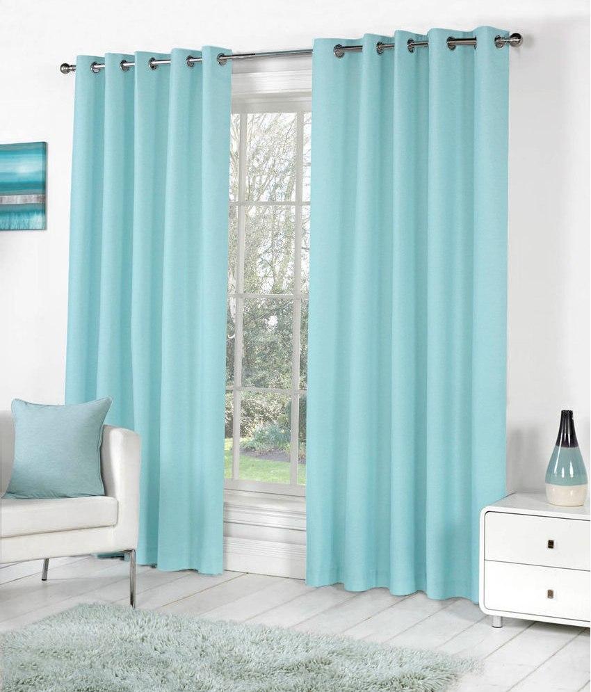 BSB Trendz Plain Pack Of 2 Window Curtain (P-102)