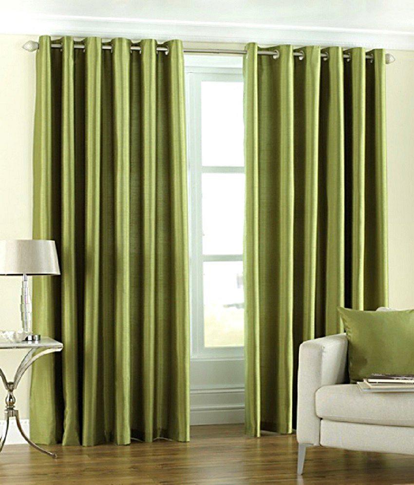 BSB Trendz Plain Single Window Curtain (PS-98)