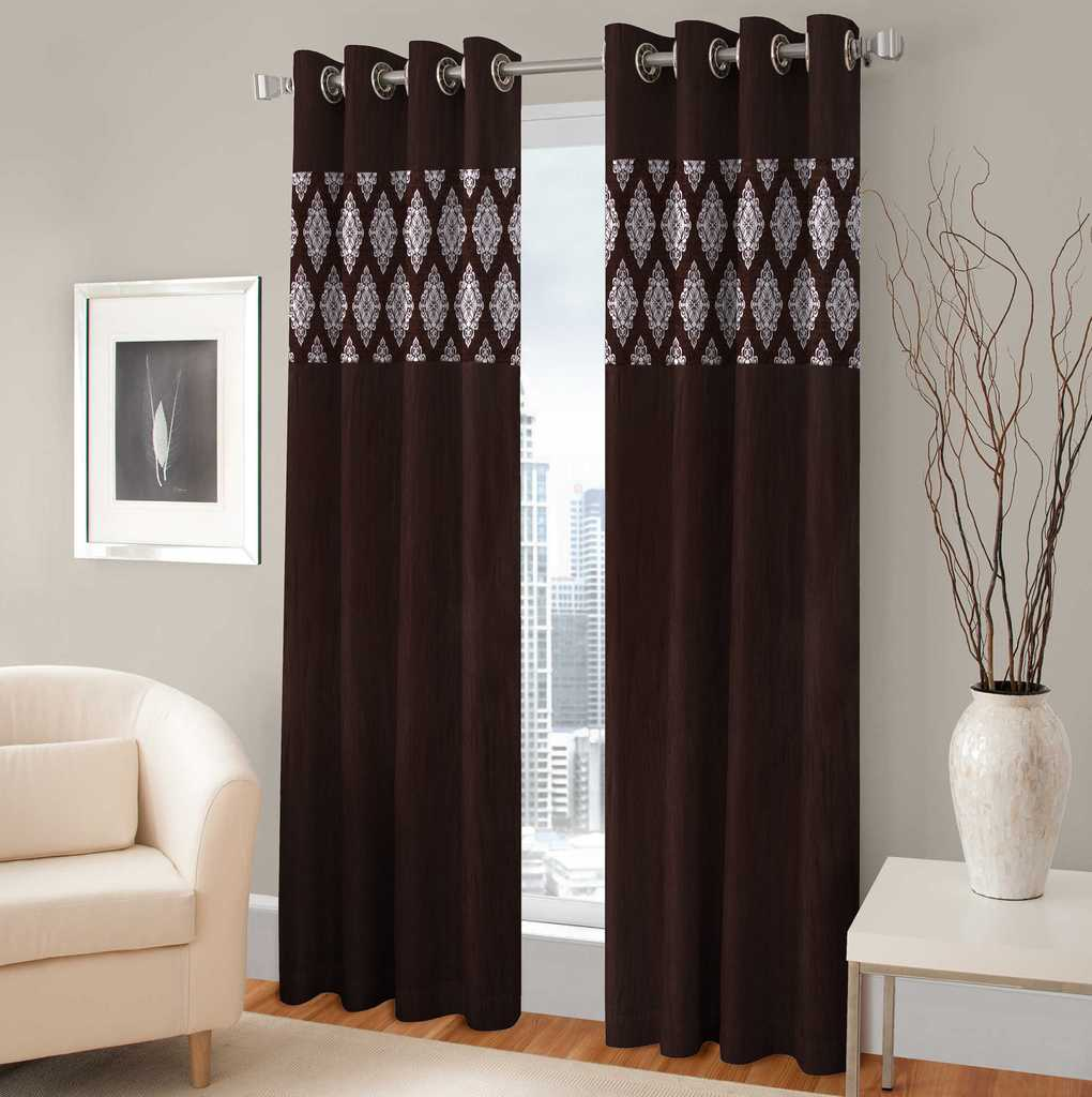 BSB Trendz Panle Print Pack Of 2 Door Curtain (P-124)