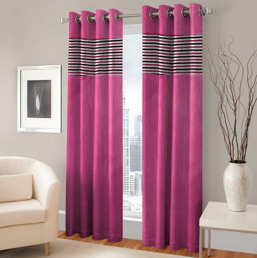 BSB Trendz Panle Print Pack Of 2 Door Curtain (P-128)