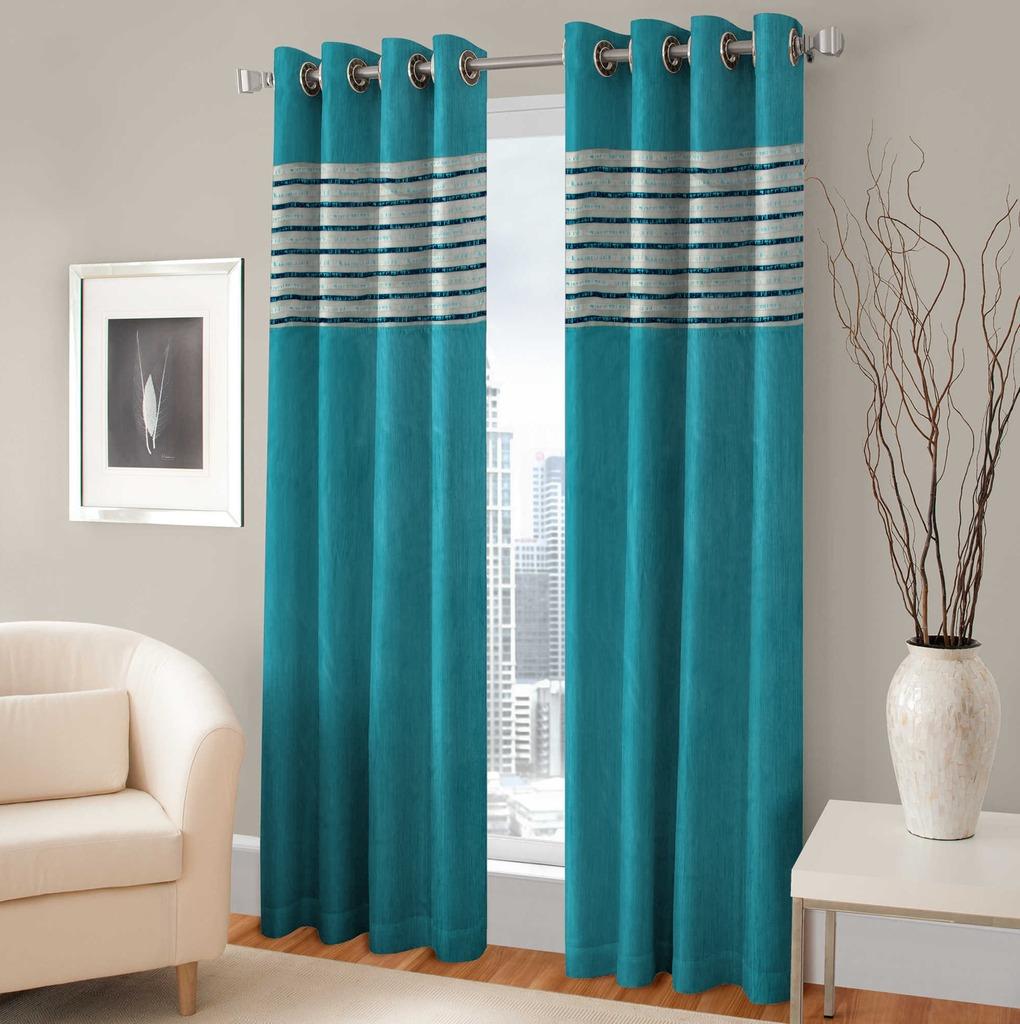 BSB Trendz Panle Print Pack Of 2 Door Curtain (P-129)