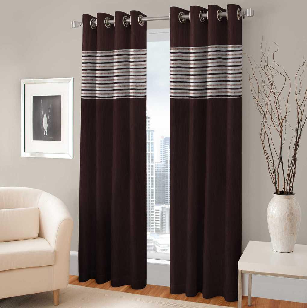 BSB Trendz Panle Print Pack Of 2 Door Curtain (P-130)