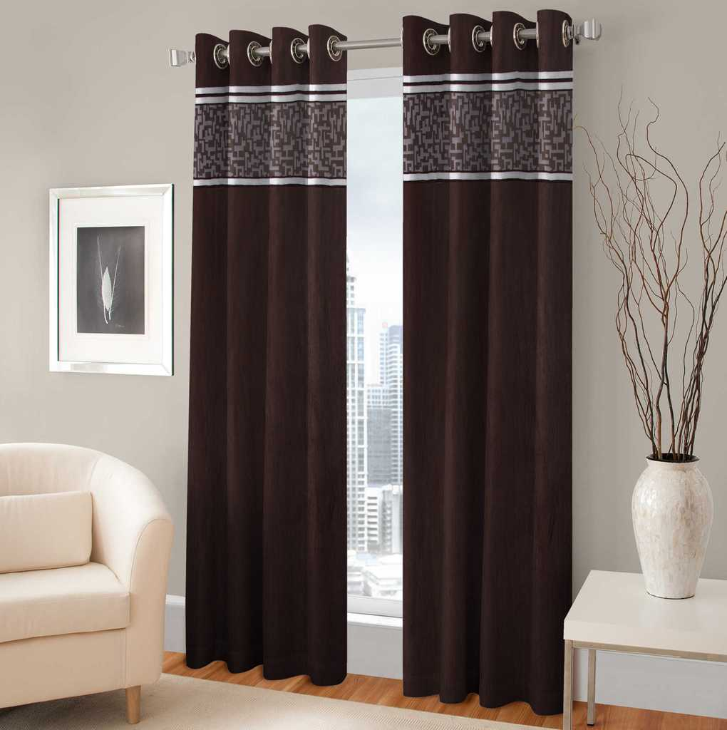 BSB Trendz Panle Print Pack Of 2 Door Curtain (P-134)