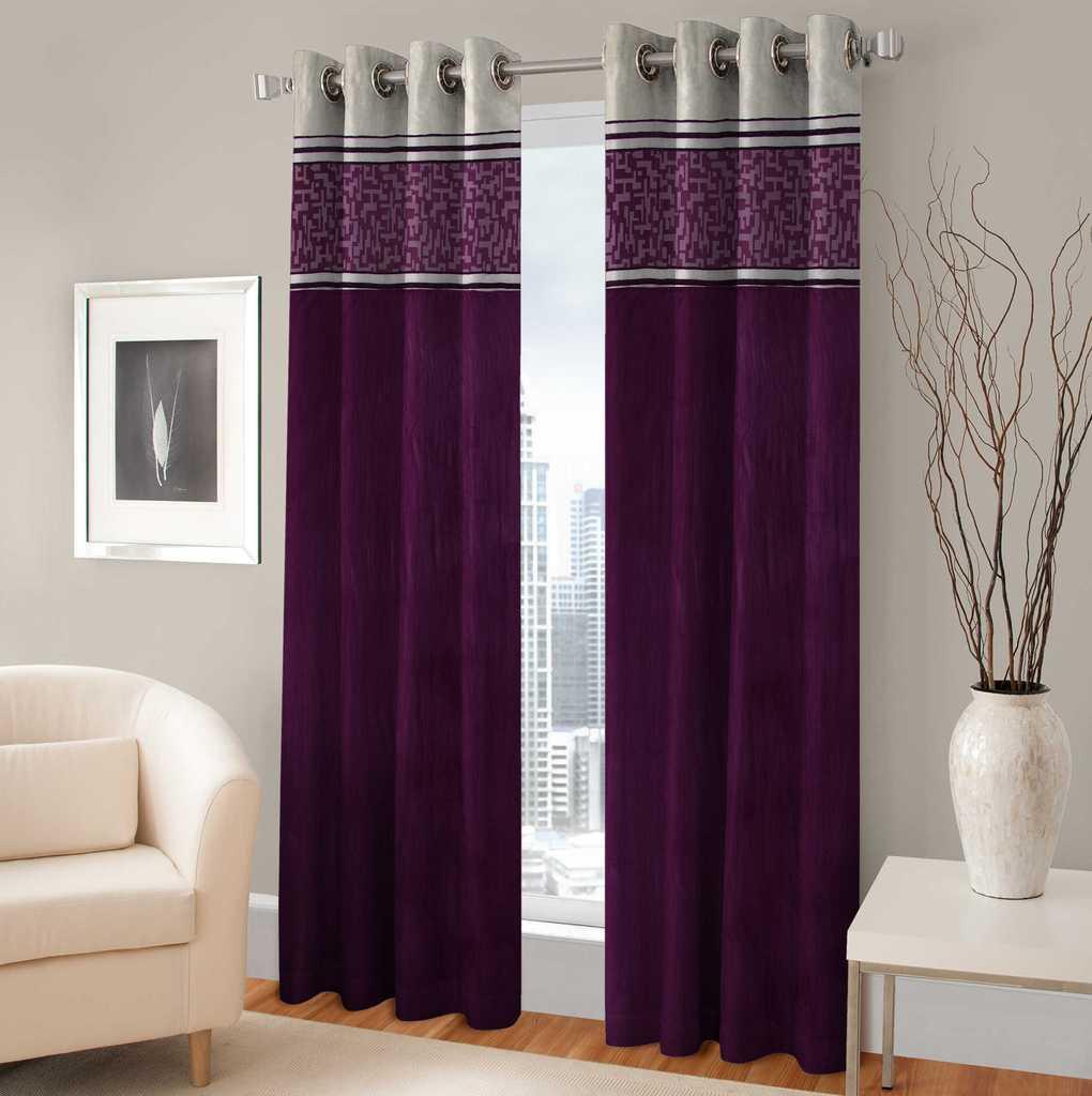 BSB Trendz Panle Print Pack Of 2 Door Curtain (P-136)
