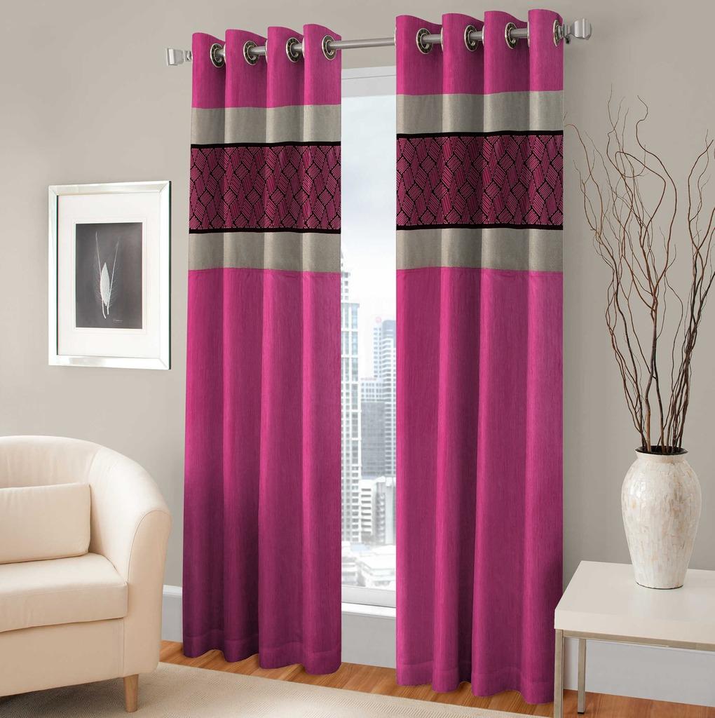 BSB Trendz Panle Print Pack Of 2 Door Curtain (P-138)