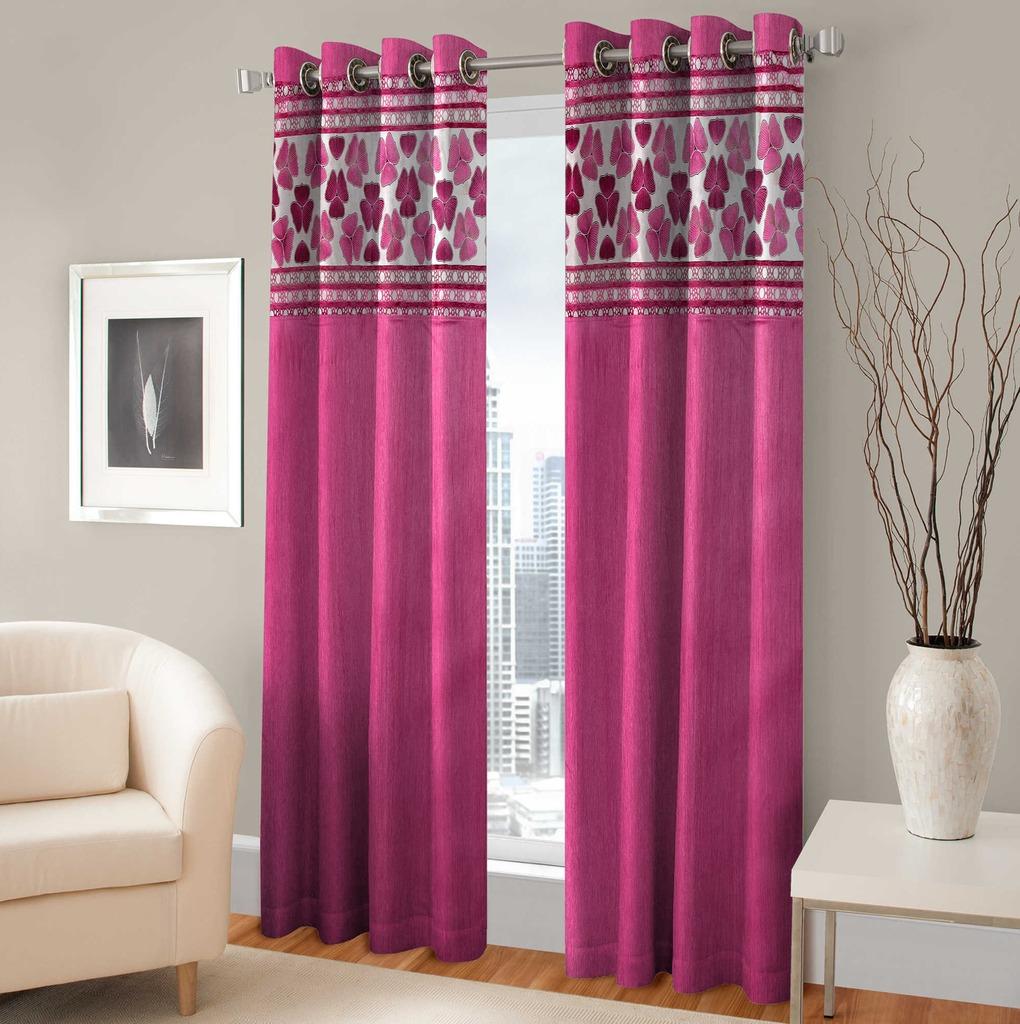 BSB Trendz Panle Print Pack Of 2 Door Curtain (P-141)