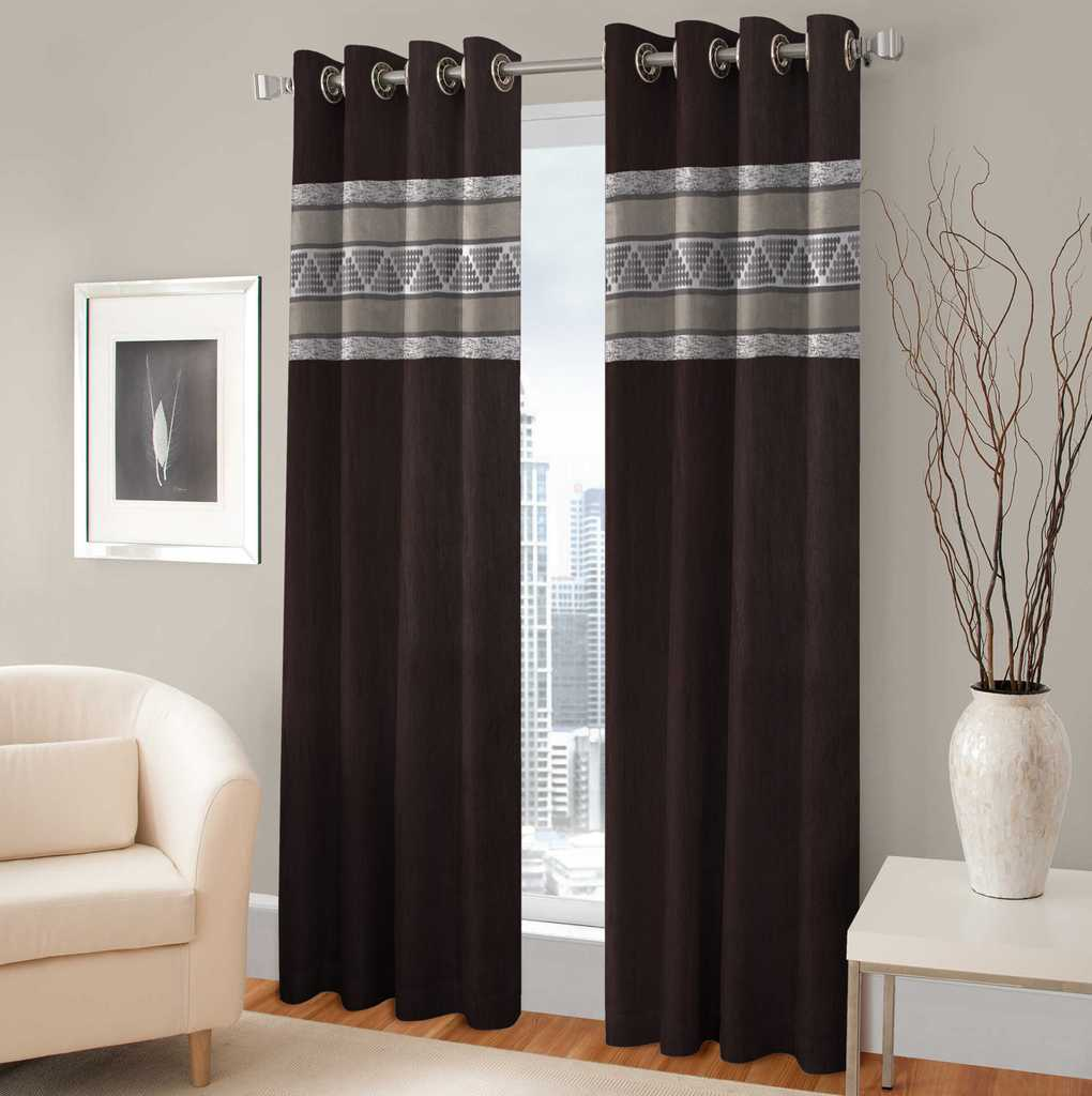 BSB Trendz Panle Print Pack Of 2 Door Curtain (P-143)
