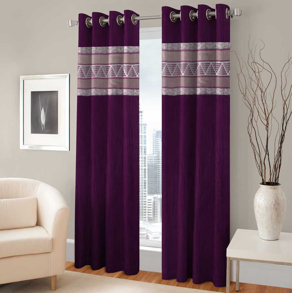 BSB Trendz Panle Print Pack Of 2 Door Curtain (P-144)