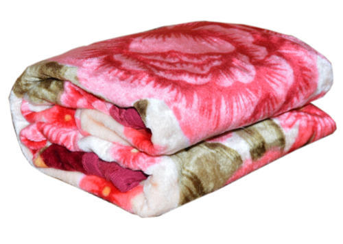 BSB Trendz Printed Single Bed Assorted Mink Blanket