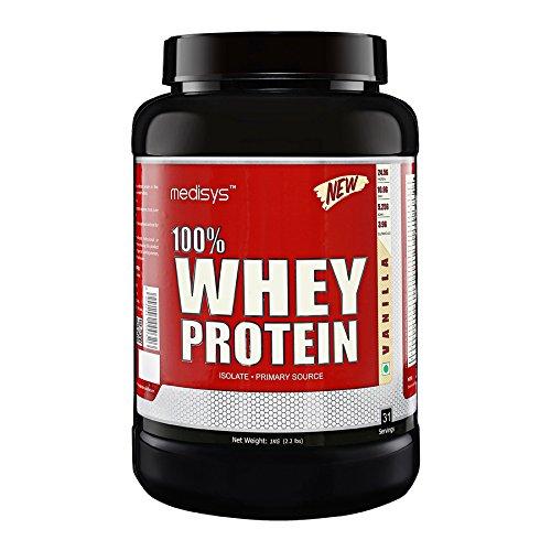 Medisys 100 Whey Protein - Vanilla - 1Kg