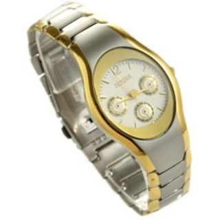 Curren Black Dial Metar Men And Rosra Gold - Silver Women  Couple Watches for Men and Women