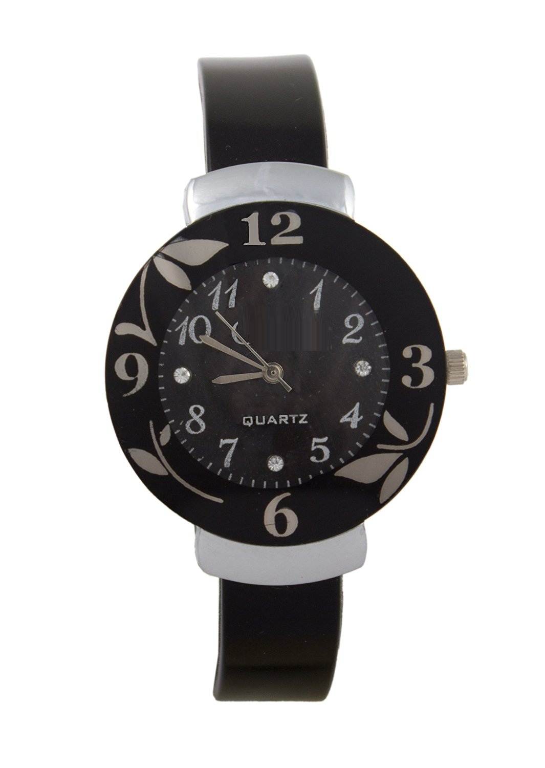 Curren Brown Black Dial and Black Dial Flower Watches Couple for Men and Women