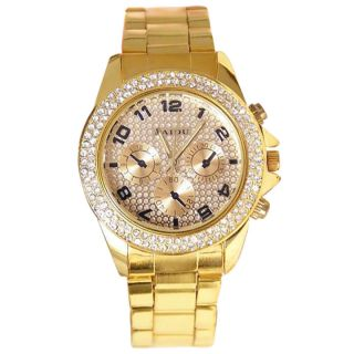 Curren Broun and Paidu Golden analog Couple Watches For Men and Women