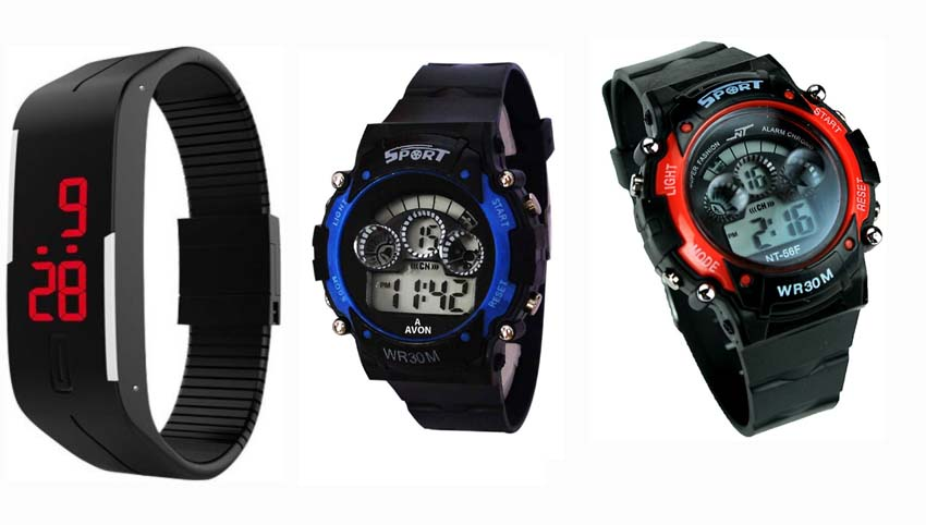 Combo Led watch for kid