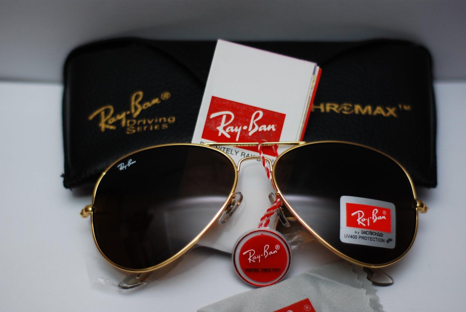 Ray Ban Aviator Gold