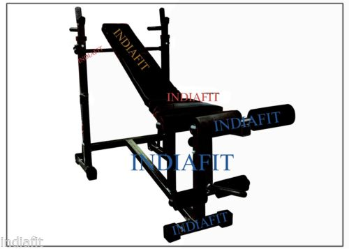 In multipurpose weight lifting bench for home gym
