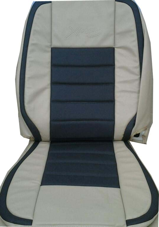 Leatherite Car Seat Cover For Swift Dzire Without Arm Rest