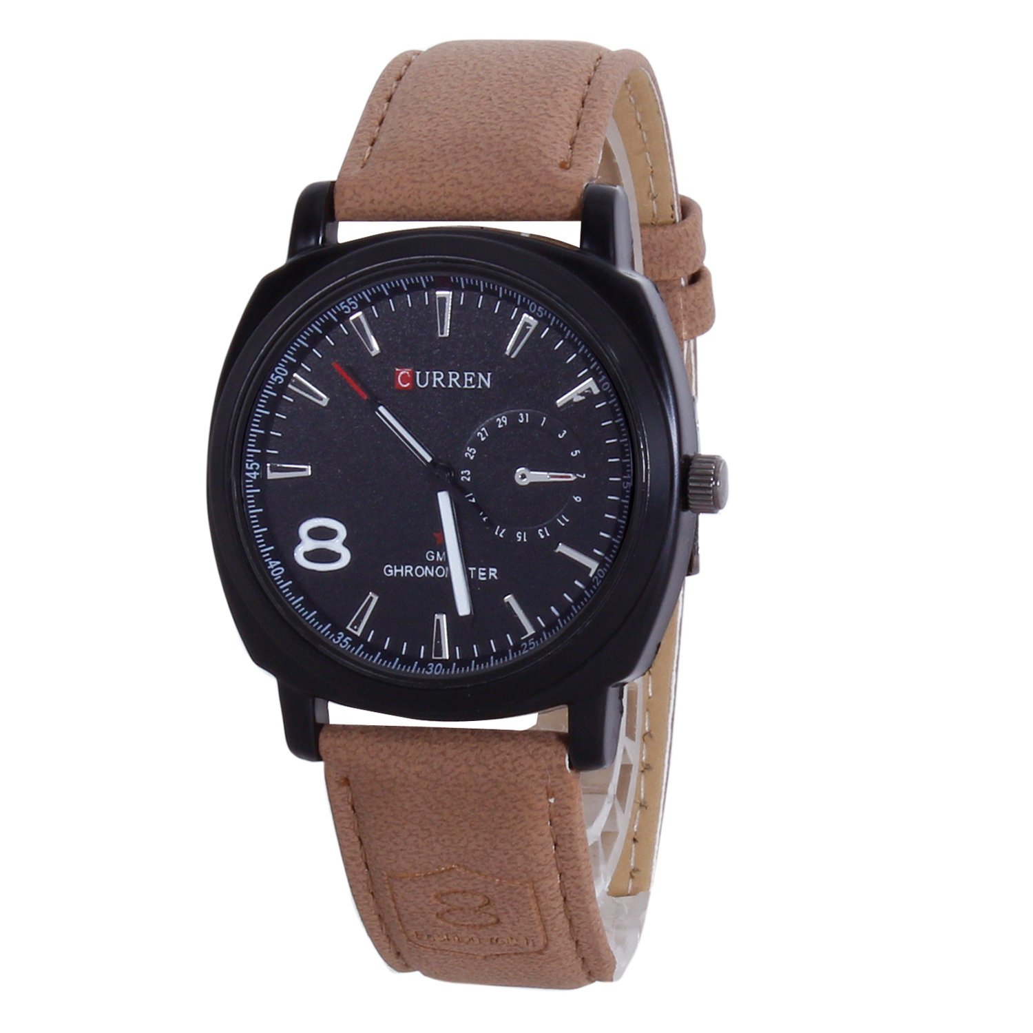 CURREN Analogue Black Dial Men Watch (CURREN 8139) by miss