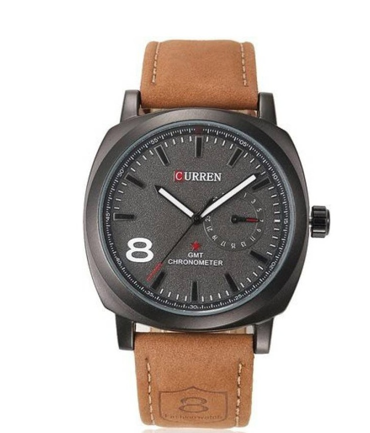 Curren Black Dail and Mxre Red Women Couple Watches for Men and Women by miss