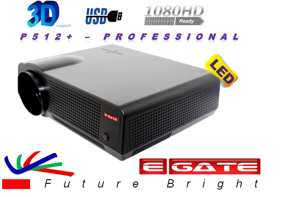 EGATE P513 HD 1080P LED Projector HDMI Cinema Theater PC USB/AV/VGA/HDMI at shopclues